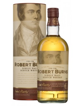Виски ROBERT BURNS Malt п/уп (туба) 43% OF 0,7л