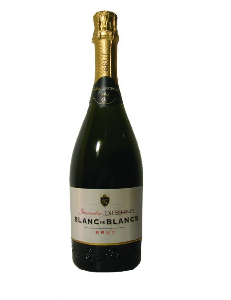 Вино Geisweiler Excellence Blanc de Blancs Brut 11,5% 0,75л