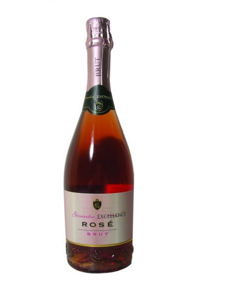 Вино Geisweiler Excellence Rose Brut 11,5% 0,75л