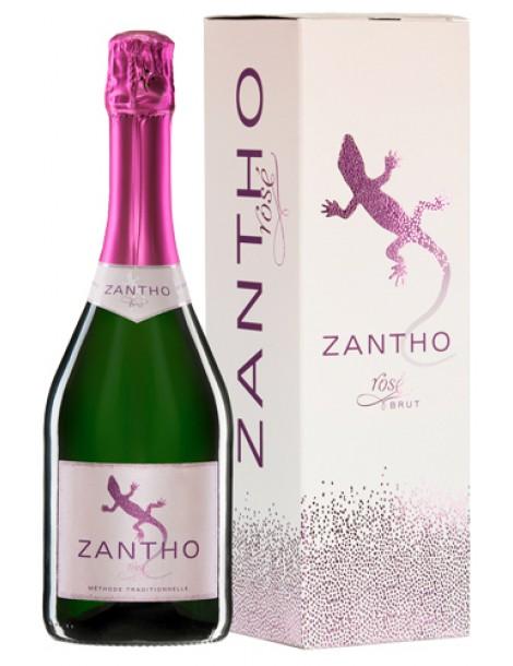 Вино Zantho Rose Brut 11,5% 0,75л п/уп
