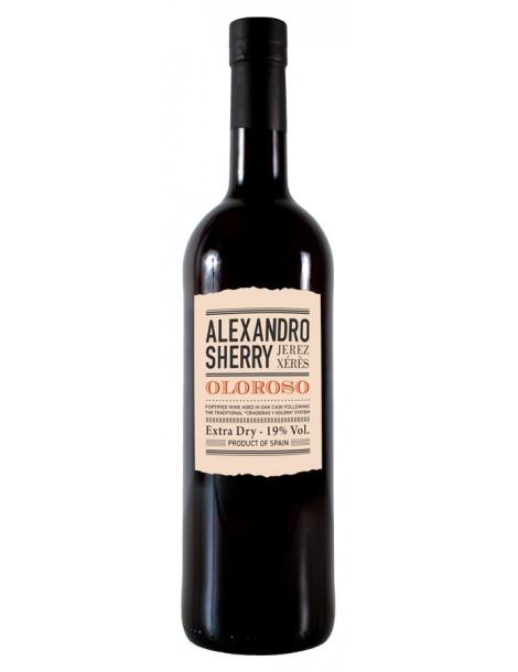 Херес Alexandro Oloroso 19% 0,75л*