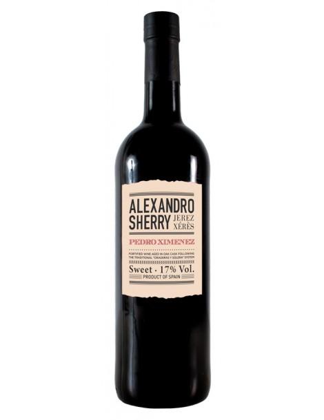 Херес Alexandro Pedro Ximenez 17% 0,75л*