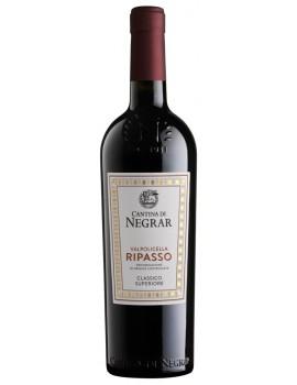Вино Cantina di Negrar Valpolicella Ripasso Classico Superiore 2018 13,5% 0,75л