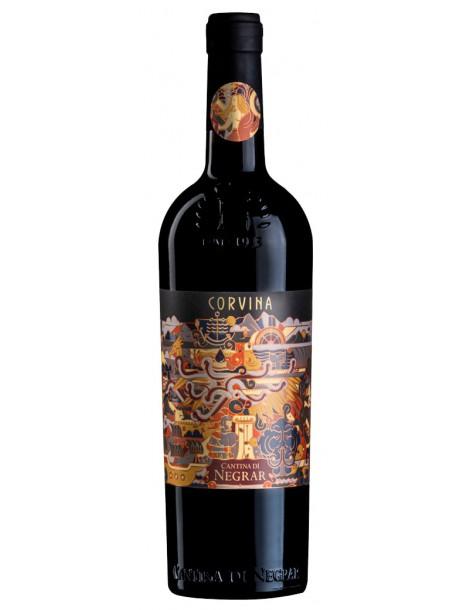 Вино Cantina di Negrar Corvina Verona 2018 12,5% 0,75л