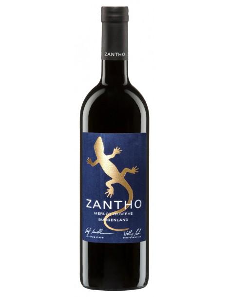 Вино Zantho Merlot Reserve 2019 13,5% 0,75л