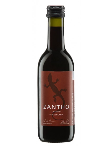 Вино Zantho Zweigelt 2019 13,5% 0,25л