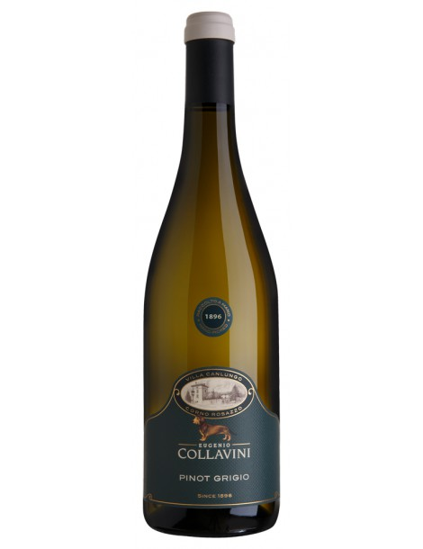 Вино Eugenio Collavini Pinot Grigio Black Label 2020 12,5% 0,75л