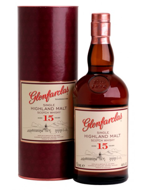 Виски GLENFARCLAS 15 years 46% OF 0,7л