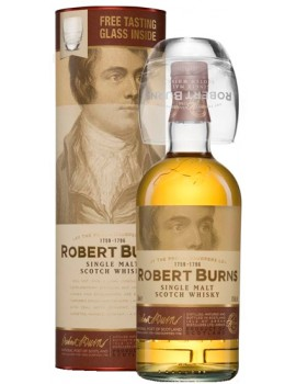 Виски ROBERT BURNS Malt (Gift pack with 1 glass) 43% OF 0,7л