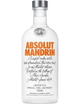 Настойка Абсолют Мандрин со вкусом мандарина 40% 0,7л*