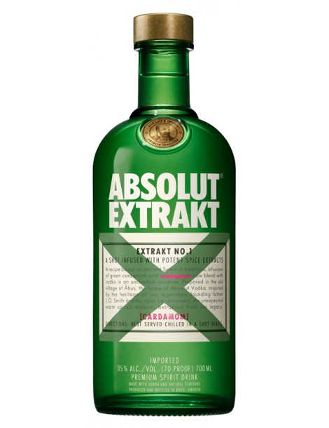 Водка Absolut Extrakt 35% 0,7 л