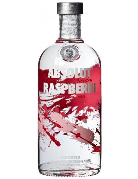 Водка Absolut Raspberri 40% 0,7 л