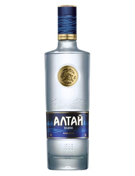 Водка Алтай 40% 0,5л