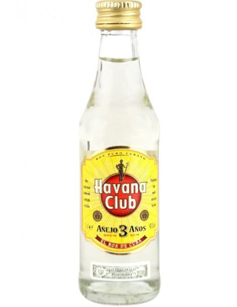 Ром Havana Club Anejo 3 Anos 0,05 л