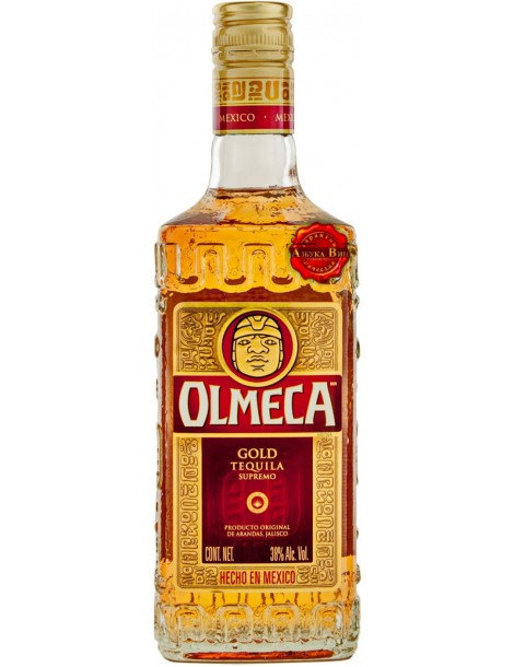 Текила Olmeca Gold 38% 0.7 л