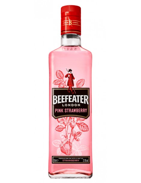 Джин Beefeater PinkStrawberry 37,5% 0.7 л