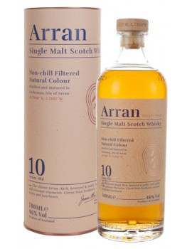Виски ARRAN 10 years 46% OF 0,7л