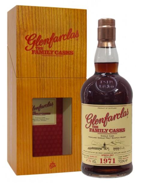 Виски Glenfarclas 1971 Family Casks 47,0% 0,7л