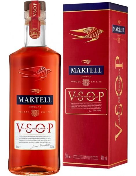 Коньяк Martell VSOP Aged in Red Barrels 40% 0.5 л, gift box