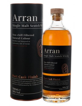 Виски ARRAN Port Cask Finish 50,0% OF 0,7л
