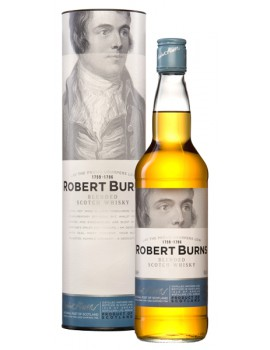 Виски ROBERT BURNS Blend п/уп (туба) 40% OF 0,7л