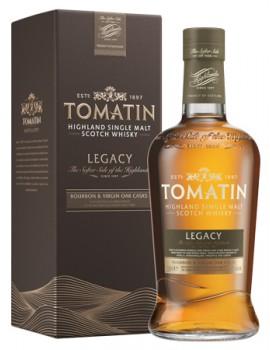 Виски TOMATIN Legacy 43% OF 0,7л п/уп