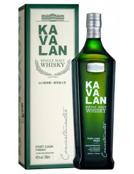 Виски KAVALAN Concertmaster Port Finish 40% OF 0,7л