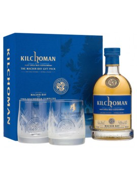 Виски KILCHOMAN Machir Bay 46% OF 0,7л (Gift Pack with 2 glasses)