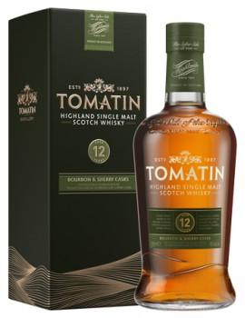 Виски TOMATIN 12 years 43% OF 0,7л п/уп