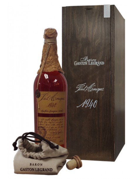 Арманьяк Baron G. Legrand 1940 Bas Armagnac 40% 0,7л