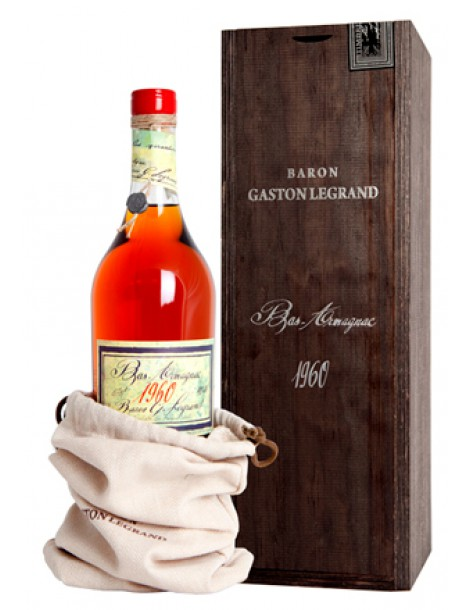 Арманьяк Baron G. Legrand 1960 Bas Armagnac 40% 0,7л