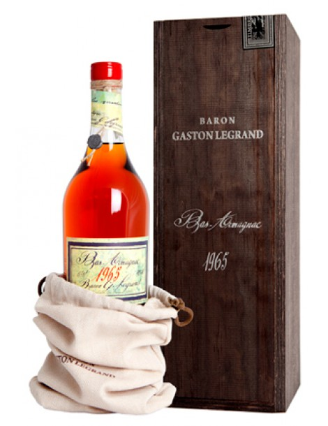 Арманьяк Baron G. Legrand 1965 Bas Armagnac 40% 0,7л