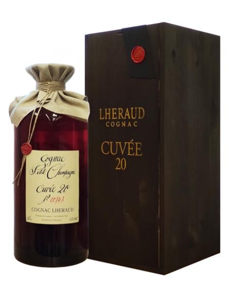 Коньяк Lheraud Cognac Cuvee 20 43% 5.0л