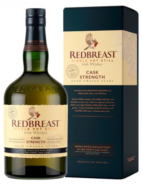 Виски Redbreast Cask Strength 12 years 55,8% 0,7 л