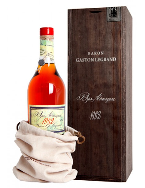 Арманьяк Baron G. Legrand 1982 Bas Armagnac 40% 0,7л