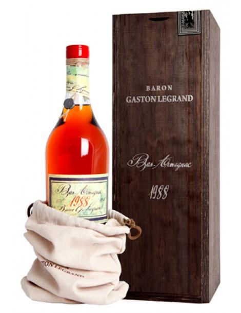 Арманьяк Baron G. Legrand 1988 Bas Armagnac 40% 0,7л