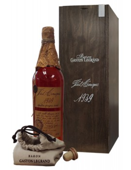 Арманьяк Baron G. Legrand 1939 Bas Armagnac 40% 0,7л