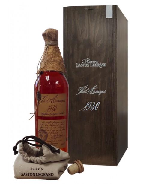 Арманьяк Baron G. Legrand 1930 Bas Armagnac 40% 0,7л