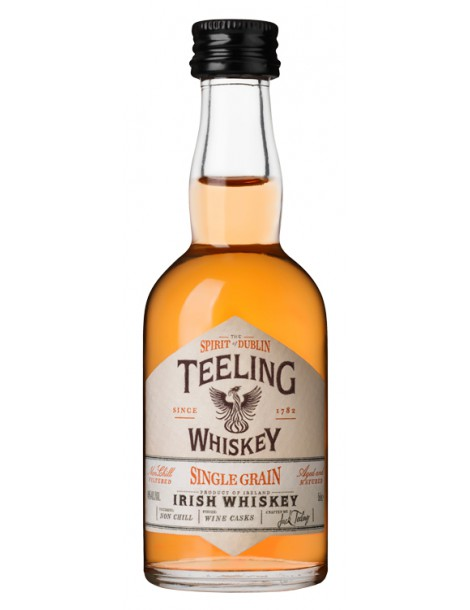 Виски TEELING Irish Whiskey Single Grain 46% OF 0,05л