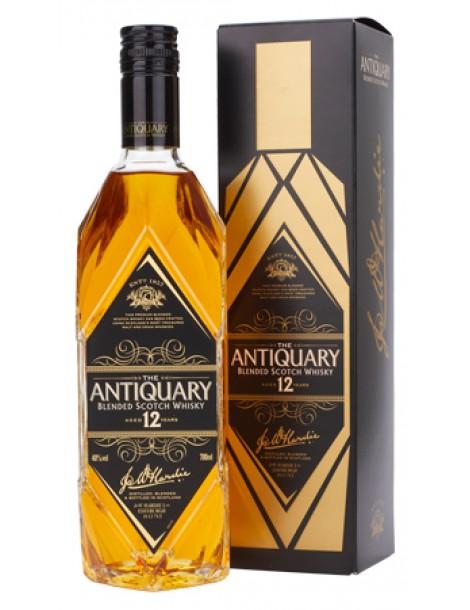 Виски ANTIQUARY 12 years 40% OF 0,7л (картон)