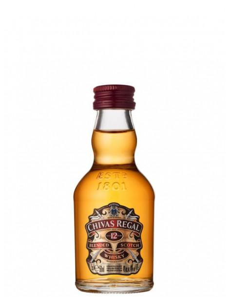Виски Chivas Regal 12 years old 40% 0,05 л