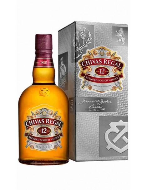 Виски Chivas Regal 12 years old 40% 1,0 л
