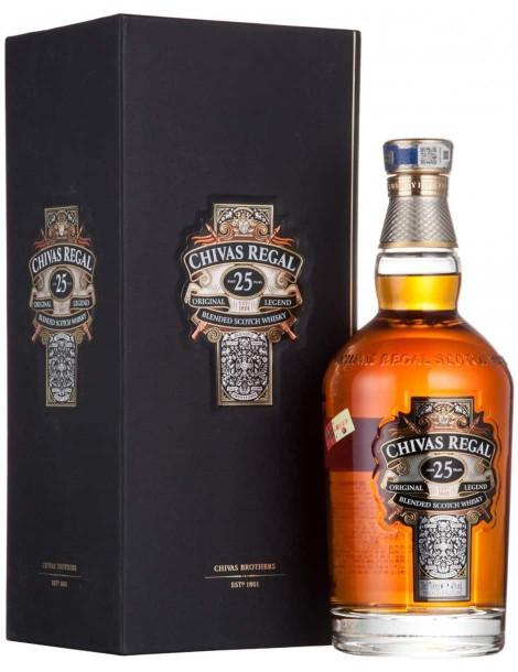 Виски Chivas Regal 25 years old 40% 0,07 л