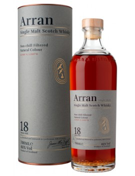 Виски ARRAN 18 years 46% OF 0,7л