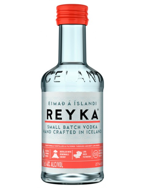 Водка Reyka Small Batch Vodka 40% 0,05л