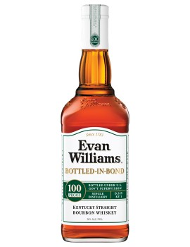Виски EVAN WILLIAMS Bottled-in-Bond 50% OF 0,75л