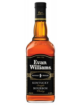 Виски EVAN WILLIAMS Extra Aged 43% OF 0,75л