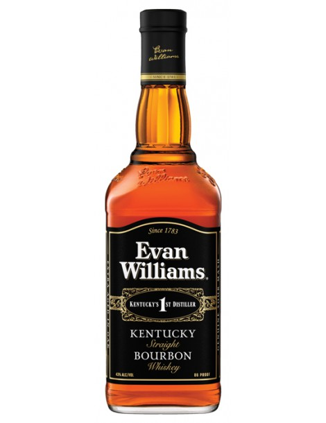 Виски EVAN WILLIAMS Extra Aged 43% OF 0,75л