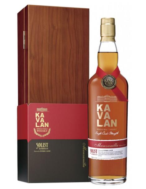 Виски Kavalan Solist Manzanilla Single Cask Strength 58,6% OF 0,75л
