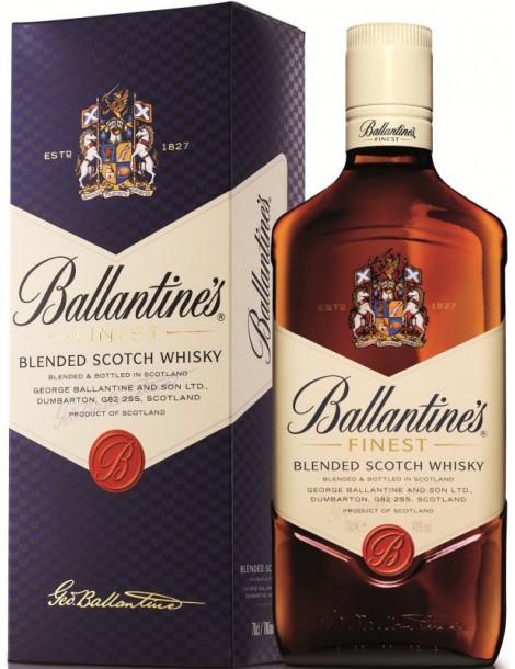 Виски Ballantine's Finest 40% 0,7 л, gift box